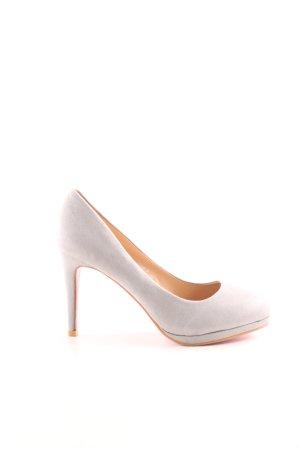 Super Me High Heels wollweiß-nude Business-Look