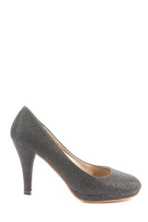 Super Me High Heels schwarz Business-Look