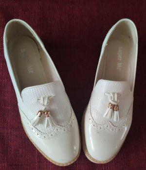 Super Me Pantofel biały
