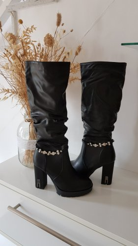 Super Me Stiefel schwarz 37 neu