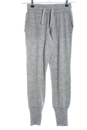 super.natural Pantalon de jogging gris clair moucheté style décontracté