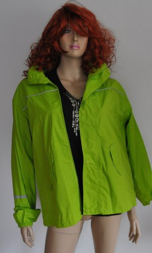 Alive Raincoat meadow green polyester