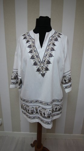 Atelier Creation Camisa tipo túnica blanco