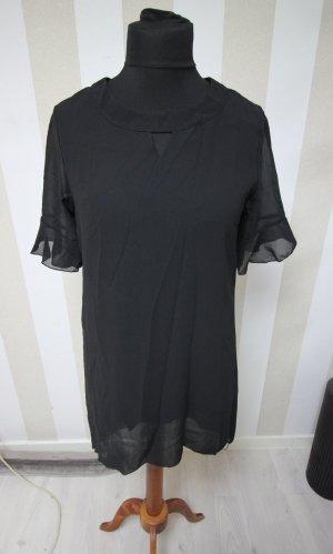 Camisa tipo túnica negro