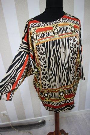 Camisa tipo túnica multicolor