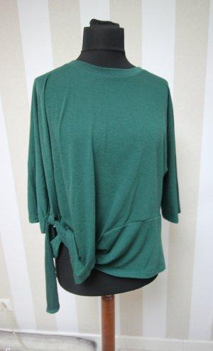 Camisa tipo túnica verde