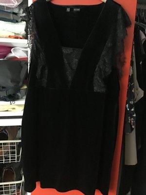 Bon Prix Sukienka ze stretchu czarny Elastan