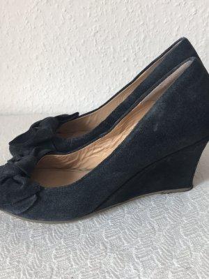 Super schicke elegante Leder Plateau Schuhe zu verkaufen