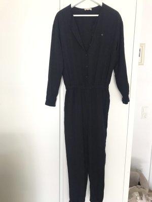 American Vintage Trouser Suit dark blue mixture fibre