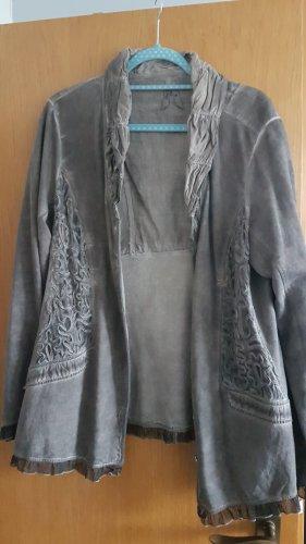 Body Needs Shirt Jacket dark grey