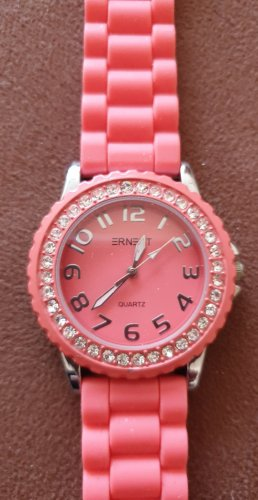 Ernest Analoog horloge roze