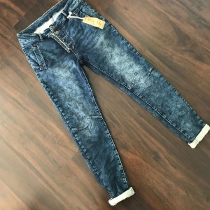 Melly & Co Jeans stretch bleu foncé-bleu acier