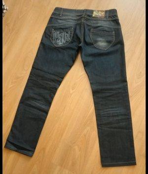 Super schöne Jeanshose von Desigual, wie neu, schöne Waschung, gerader Schnitt, W 32/L 30