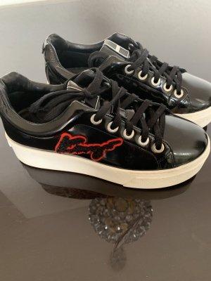 Kenzo Sneaker stringata nero-rosso