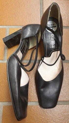 Super schöne schwarze bama Absatz Schuhe/Pumps Gr. 36