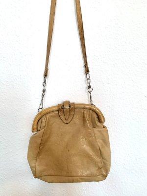 Super schöne Vintagetasche Umhaengetasche aus Leder