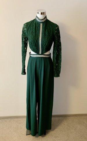 Asos Trouser Suit green mixture fibre
