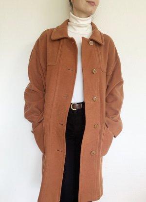 Vintage Winter Coat light orange-apricot