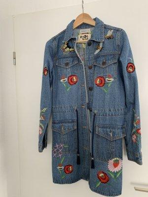 Desigual Denim Jacket azure-cornflower blue