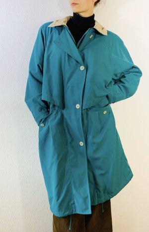 Super schöner klassischer Vintagemantel/ Trenchcoat- fliessender Stoff