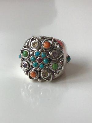 Super schöner Silber Ring 925 mit Halbedelsteinen
