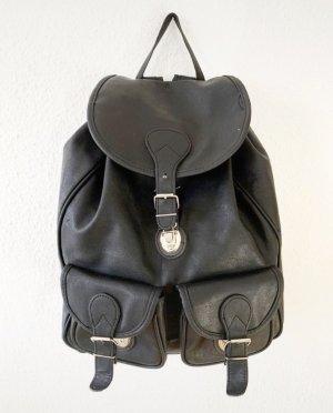 Super schöner vintage Rucksack in schwarz