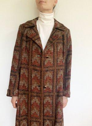 Vintage Winter Coat multicolored