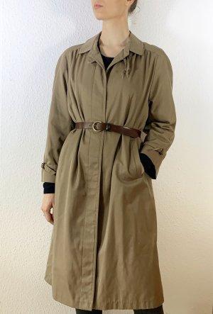 Super schöner Vintagemantel/ Trenchcoat in braun