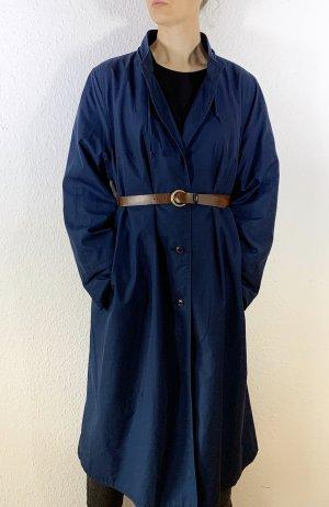 Super schöner Vintagemantel/ Trenchcoat in dunkelblau