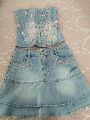 Rise Haut type corsage bleu azur