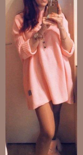 Super schönes Designer Strickkleid in flamingorosa Gr.S/M Neu.