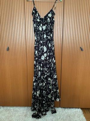 Polo Ralph Lauren Vestido largo negro-blanco