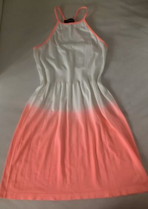 100% Fashion Halter Dress white-salmon
