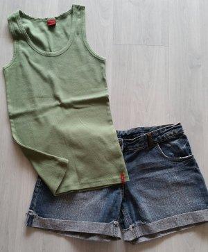 Castro Pantaloncino di jeans blu-verde