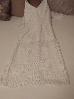 Jarlo Cut Out Dress white