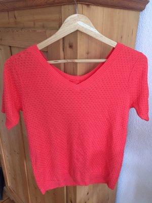 Super schönes T-shirt, Shirt von Nümph, rot, sitzt wie 36, Gr 34, NEU mit Etikett