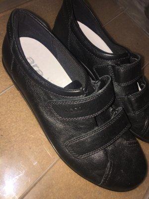 Ecco Basket velcro noir