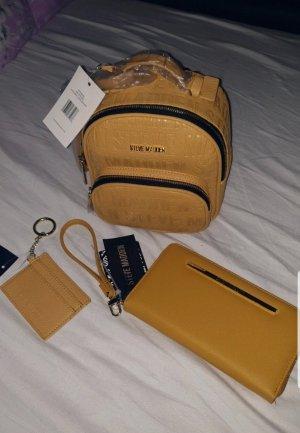 Super Set Rucksack Geldbeutel und Schlüsselanhänger Neu von Steve Madden