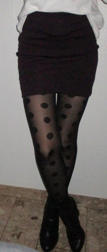 super sexy Strumpfhose Pants schwarz große Punkte H&M S 34 36 38 NEU