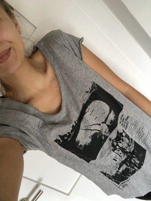 Super Shirt mit Spruch und Print