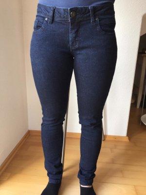 Clockhouse Jeans cigarette bleu foncé