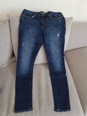 Super Skinny Jeans von Abercrombie & Fitch, Gr. 28/31
