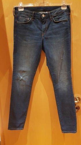& DENIM Jeans skinny blu scuro
