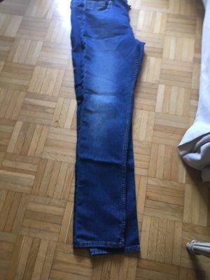 H&M Jeans elasticizzati blu scuro-blu