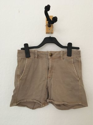 American Eagle Outfitters Short moulant beige-chameau