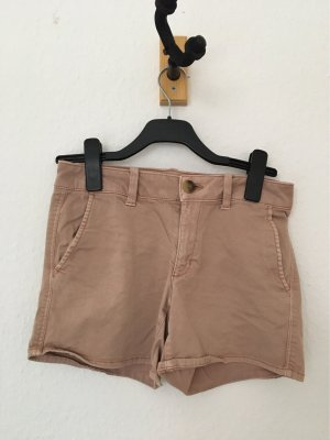 American Eagle Outfitters Hot pants stoffig roze-mauve