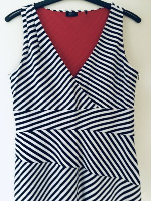 Super stylisch maritimer Look von Esprit Sommer Kleid Stretch 44