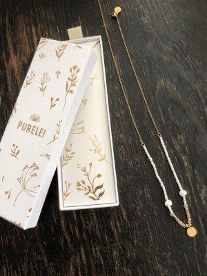 Purelei Gold Chain gold-colored-white