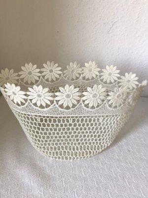Torebka koszyk biały