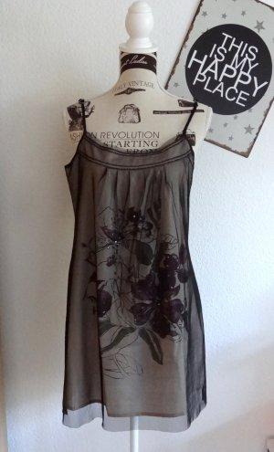 Super-Süßes doppellagiges Kleid, Tunika, Longshirt - Gr. M